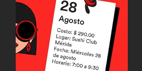 Ladies, Wine & Design Mérida - Sesión 8 boletos