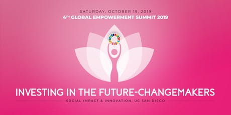 4th Global Empowerment Summit 2019 -Investing in the Future - Changemakers tickets