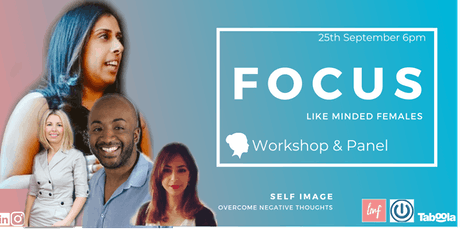 FOCUS : Self Image - Overcome negative thoughts tickets