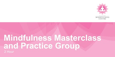Masterclass and Practice group Friday 20/09/2019 tickets