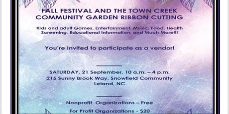 TVC Fall Festival & Community Garden Ribbon Cutting tickets
