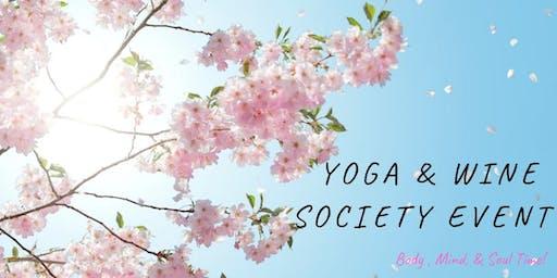 Yoga by Dena & Wine Society Event at Vino Nostra Wine Bar