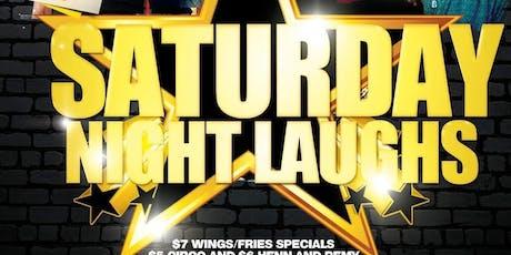 Saturday Night Laughs  tickets