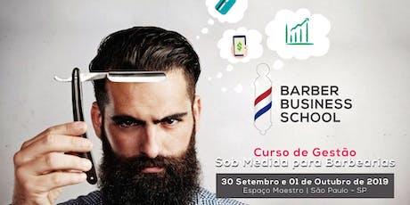 Curso de Gestão Sob Medida para Barbearias - São Paulo-SP ingressos