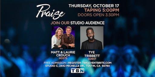 CA - Tye Tribbett with Matt & Laurie Crouch