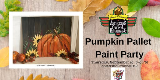 Pumpkin Pallet Paint Party