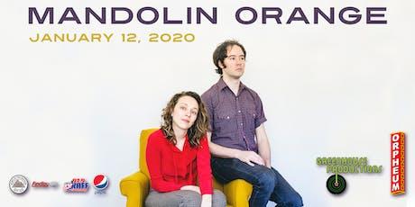 Mandolin Orange tickets