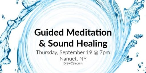 Guided Meditation & Sound Healing
