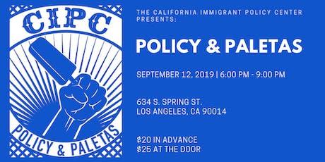 CIPC Policy & Paletas: Los Angeles tickets