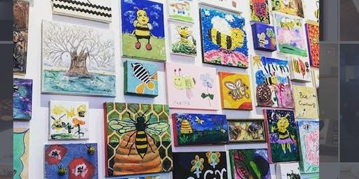 Sleepy Bee Storytime at PLAZA Artist Materials-Kenwood