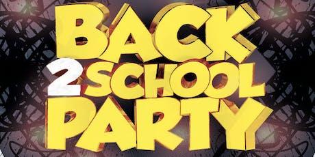 BACK 2 SCHOOL @ FICTION NIGHTCLUB   FRIDAY AUG 30TH tickets