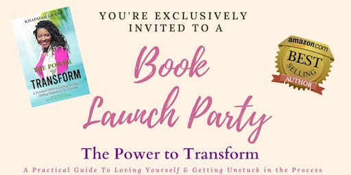 The Power to Transform Book Launch Party