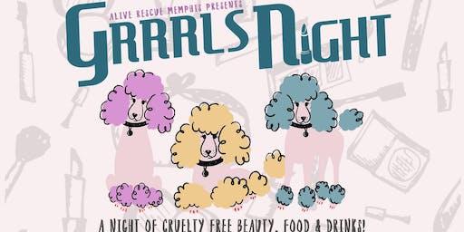 Grrrls' Night by Alive Rescue Memphis