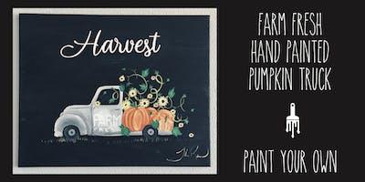 Harvest Farm Truck - Paint lesson