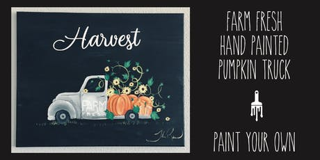 Harvest Farm Truck - Paint lesson tickets