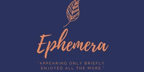 Ephemera tickets