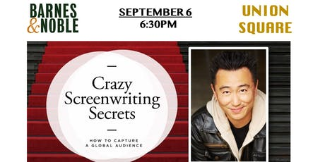 Meet Author Weiko Lin in NYC: Crazy Screenwriting Secrets tickets