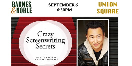 Meet Author Weiko Lin in NYC: Crazy Screenwriting Secrets