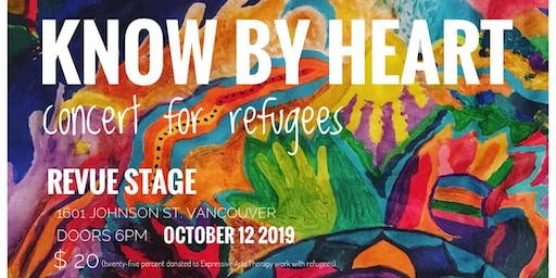 Know By Heart: concert for refugees