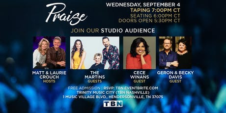 TN - The Martins, Cece Winans, Geron & Becky Davis with Matt & Laurie Crouch tickets