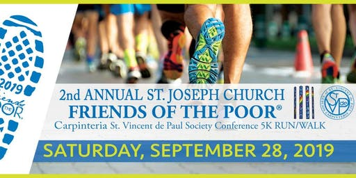 Friends of the Poor 5K Walk/Run!