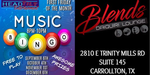 Music Bingo at Blends Daiquiri Lounge - Carrollton, TX
