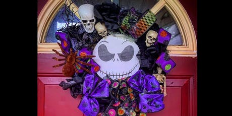 Nightmare Before Christmas- Halloween Wreath Making class- The Pop Shop tickets