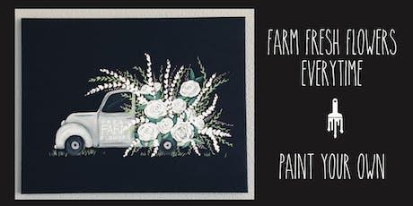 Fresh Farm Flowers Truck - Paint Lesson tickets