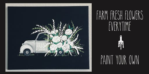 Fresh Farm Flowers Truck - Paint Lesson