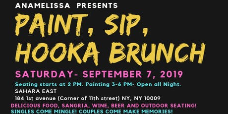 Paint, Sip and Hooka!! tickets