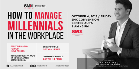 Youth The Giant: How To Manage Millennials At Work with Jonathan Yabut tickets