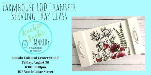 Transfer Tray Class