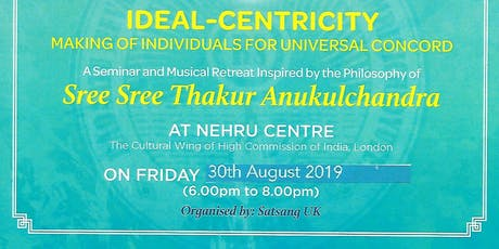 Ideal-centricity - Making of individuals for universal concord tickets