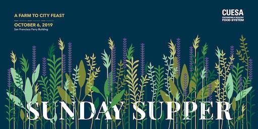 CUESA's Sunday Supper: A Farm to City Feast