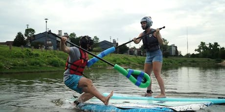 Paddle Board Joust at Tulsa's Great Raft Race tickets