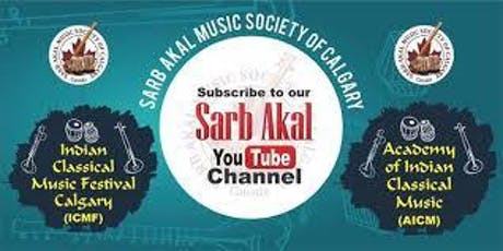 Sarb Akal Indian Classical Music Festival 2019 Inauguration Concert tickets