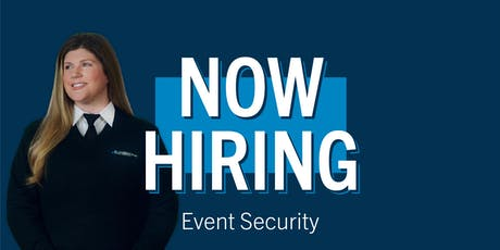 Job Fair - Event Security for CHASE Center - San Francisco tickets