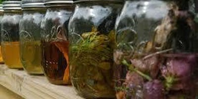 Soul Kitchen Workshop: Herbal Tincture Making