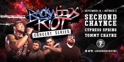 Backwoods Riot Concert Series in Wichita, KS
