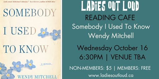 LOL Reading Cafe - (Non Members) Somebody I Used To Know