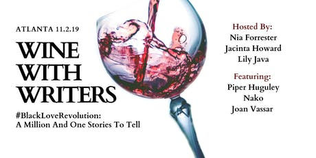 Wine With Writers tickets