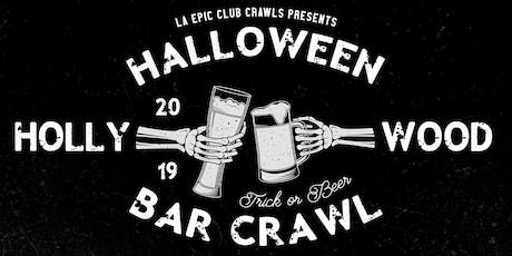 2019 Hollywood Halloween Pub Crawl tickets