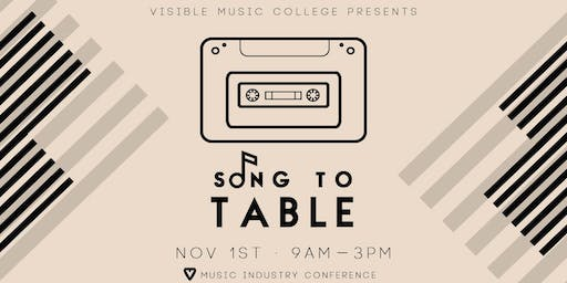 Song to Table: Music industry conference