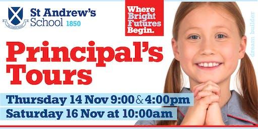 St Andrew's School Principal's Tours - November 2019