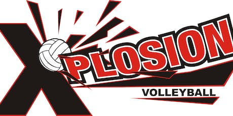 Xplosion Volleyball Clinics 2019 for 5th-8th graders  tickets