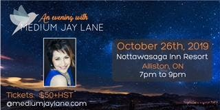 An Evening with Medium Jay Lane - Alliston