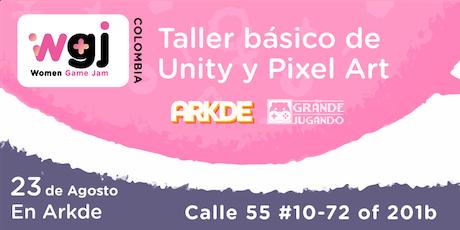 Taller WGJ - Unity y Pixel Art entradas