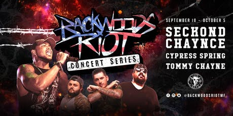 Backwoods Riot Concert Series in OKC tickets