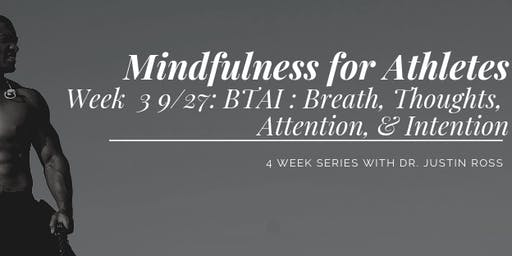 Mindfulness for Athletes: Session 3