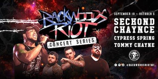 Backwoods Riot Concert Series at Homer's Bar